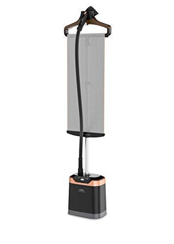 Calor IT8460C0 Défroisseur Vapeur Vertical Pro Style Care 1800W Steamer 5 Niveaux Vapeur Chauffe en 45 sec Autonomie jusqu'à 40 min Repassage Défroissage Noir et Cuivre