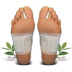 10 Stück Detox Bambuspflaster *Vitalpads Vital Bambus Pflaster Wellness* - 5 Tage Kur - Beseitigung von Giftstoffen