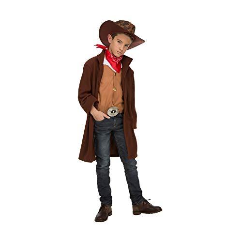 My Other Me Me-204255 Disfraz de cowboy para niño, 10-12 años (Viving Costumes 204255