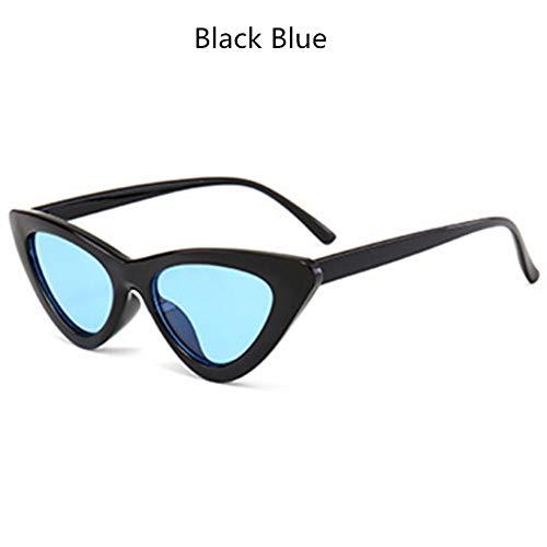 YOGER Sonnenbrillen Imwete Marke Sonnenbrille Frauen Cat Eye Sonnenbrille Weibliche Süßigkeiten Objektiv Uv400 Brillen Weibliche Vintage Brillen