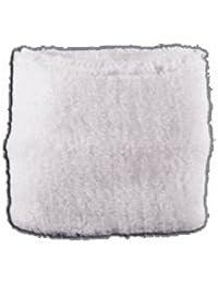 Digni® Poignet éponge avec drapeau Unicolore Blanc, pack de 2