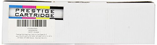 Prestige Cartridge KIT 4 Compatibile ALTA RESA Cartucce d'inchiostro per Epson WorkForce Pro WF-4630, WF-4640, WF-5110, WF-5190, WF-5620, WF-5690 Serie - UN SET