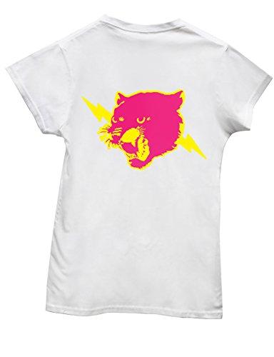 Hippowarehouse Damen T-Shirt Gr. XXL, Weiß - Weiß (Damen Jaguars-football-t-shirt Weißen)