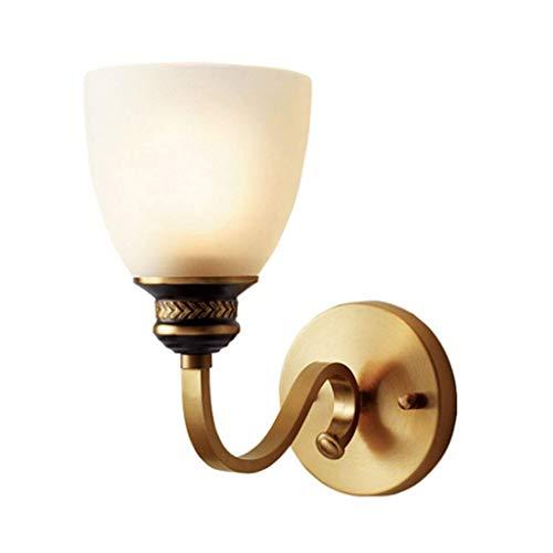 LMCLJJ Einfachheit Wandleuchte Swing Arm Lampe Vintage Messing poliert Swing Arm Wandleuchte Plug in Wandhalterung weißer Stoff Schatten Satin Nickel Finish kreative Schlafzimmer Nachttreppe dekorativ -