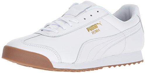 Uomini Bianco Gomma Puma Per Scarpe Puma Oro Squadra Roma Classico Gli Della FvEYqvw