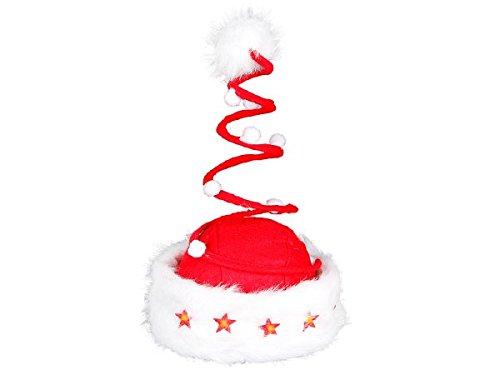 olausmütze Fun Weihnachtsmützen, wählen:wm-16 Spirale LED (Flauschige Nikolausmütze)