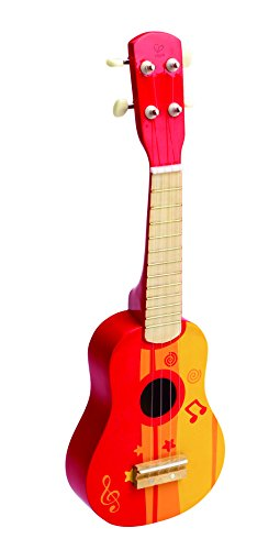 Hape - Guitarra, color rojo (0HPE0316)