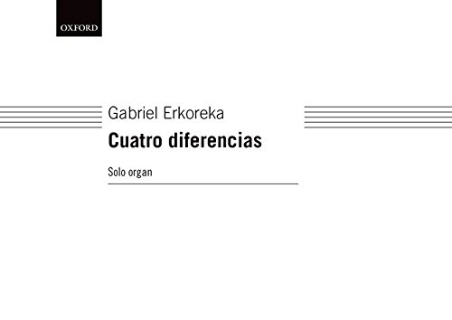 Cuatro diferencias (version for organ solo)