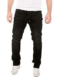 WOTEGA Herren Jeans Noah - Sweathose in Jeansoptik - Männer Jogg-Jeans Slim
