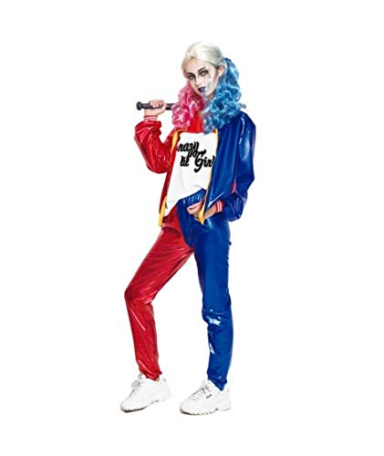 Partilandia Kostüm Jokers Erwachsene Frau für Karneval GRÖSSE ()