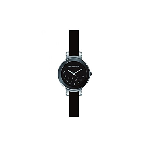 Ted Lapidus A0625RNNN - Reloj de pulsera mujer, piel, color negro