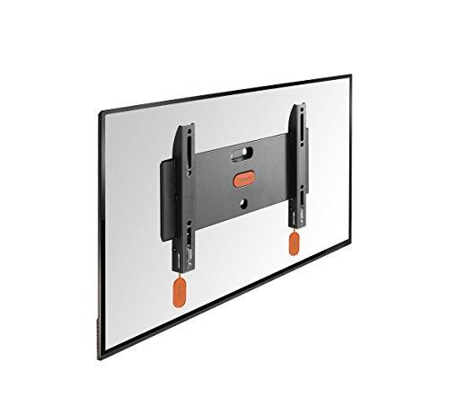 Vogel's BASE 05 S TV-Wandhalterung für 48-109 cm (19-43 Zoll) Fernseher, starr, max. 20 kg, Vesa max. 200 x 200, schwarz (Wandhalterung Für 19-tv)