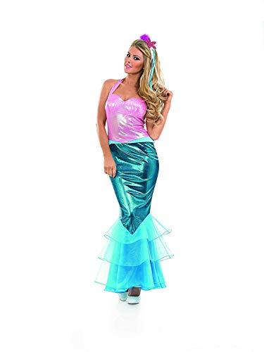 Fun Shack Damen Costume Kostüm Mermaid, Women: 12-14