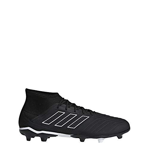 adidas Herren Predator 18.2 FG Fußballschuhe, Schwarz (Negbás/Ftwbla 000), 44 EU - Adidas-fußball-schuhe-indoor