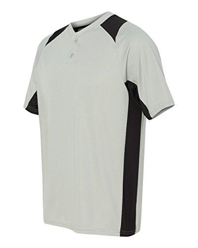 Augusta Herren T-Shirt Silver Grey/Black