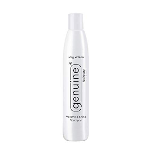 genuine haircare Volume & Shine Shampoo für trockenes, strapaziertes, dünnes, brüchiges Haar, Volumen und Feuchtigkeit, 250ml