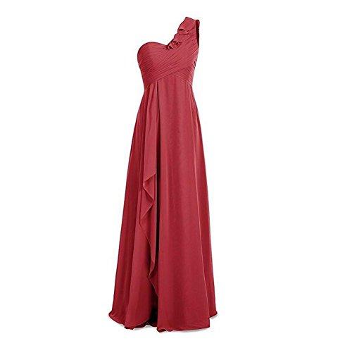 KA Beauty - Robe - Femme rouge foncé