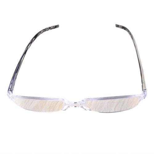 Foto de Marco THG Gent Unisex Compacto Negro Gafas de lectura Gafas Gafas Reader Ampliaci¨®n Visi¨®n Lupa Clip de bolsillo Caso 2,50 dioptr¨ªas