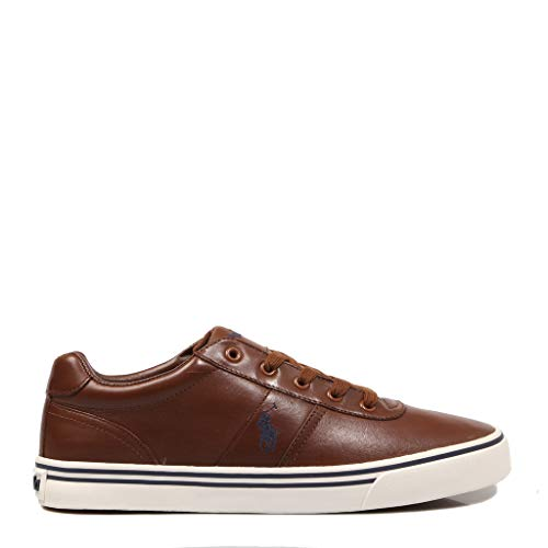 Polo Ralph Lauren, Hanford Leather TAN, Herren Sneaker, 43