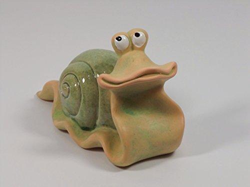 Schnecke Gartendeko Deko Garten Tier Figur Artikel Skulptur Statue Raupe Muschel