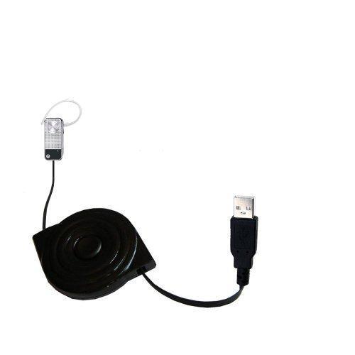 Das einziehbare USB-Lade-Kabel für Motorola MOTOPURE H12 Cradle Ausgerüstet Mit Dem Erweiterbarer TipExchange-System (Hot 1 Sync Cradle)