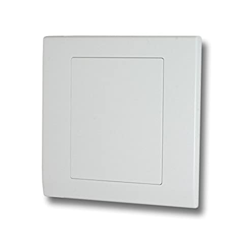 Retrotouch Simplicity 07840 Screwless White Single Blank Plate
