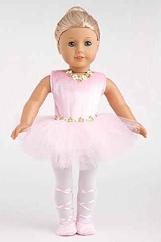 Prima Ballerina - 3 piece ballerina outfit includes pink leotard