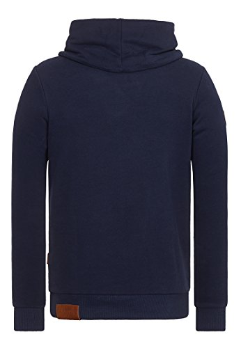 Naketano Male Sweatshirt Der Muschiflüsterer III Dark Blue