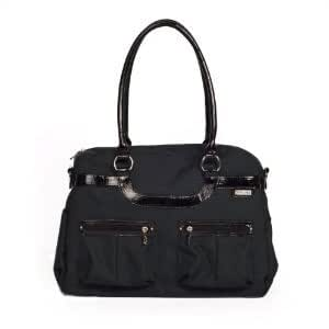 Durable Multi Purpose PVC and phthalate free JJ Cole Satchel Diaper Bag With changing pad - Onyx Baby / Child / Infant / Kid