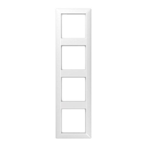 Preisvergleich Produktbild Jung AS584BFWW Rahmen 4fach