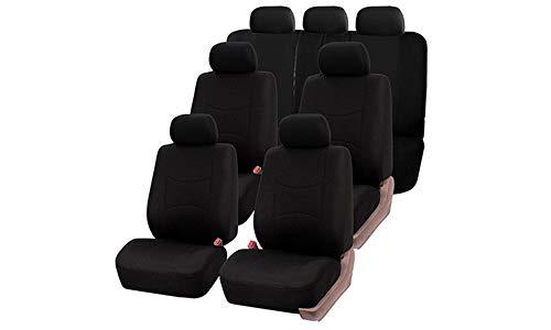 Car Van Seat Covers Full Set 7 Plazas Gris Y Negro
