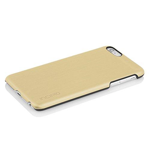 Rembourrage intérieur-incipio feather coque de protection pour apple iPhone Alu Look gold