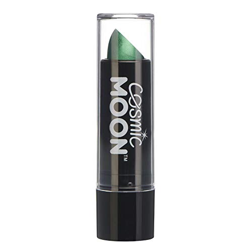 Grünen Lippenstift (Cosmic Moon - Metallic-Lippenstift - 5g - Für faszinierende Metallic-Lippen! - Grün)