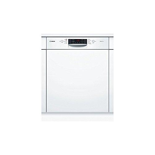 Bosch Serie 4 SMI46AW01E Semi intégré 12places A+ lave-vaisselle - Lave-vaisselles (Semi intégré, Taille maximum (60 cm), Blanc, boutons, 1,75 m, 1,65 m)