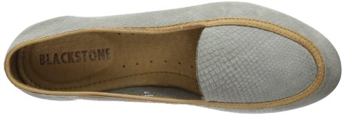 Blackstone Slip-on Ladies, Semelles compensées femme Gris (grey)
