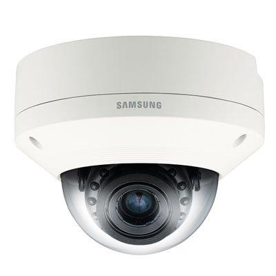 SS391 - SAMSUNG SNV-8080 5 MEGAPIXEL NETWORK VANDAL-RESISTANT DOME CCTV CAMERA POE 2.6X MOTORIZED VARIFOCAL LENS WEATHERPROOF IP66 H.264 MJPEG AUDIO DETECTION by Samsung
