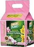 Materias TERROSAS para todas las orquídeas RICOS semi-ricos y TERRICOLE envase de cartón de 12 LT