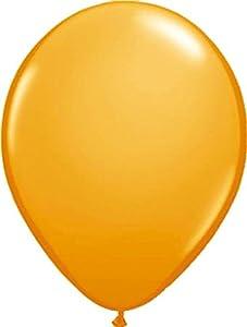 Folat 08114 - Globos metálicos (30 cm, 100 unidades), color naranja