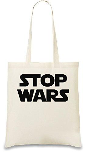 Stop Wars Star Wars Benutzerdefinierte Gedruckt Tasche Einkaufstasche Tragetasche