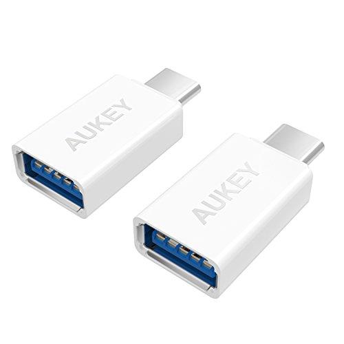 AUKEY USB C Adapter auf USB 3.0 A [ 2 Stücke ]...