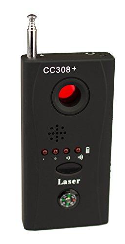 Schnurloser Wanzenfinder KG15 mit Kamera chip Reflektor Wanzensuchgerät Wireless Tap Detector Spionfinder Anti Funkkamera Spy Cam Camera Kamera RF Detektor High Performance Bug Detektor -