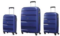 American Tourister Juego de equipaje Bon Aire 3 habitaciones 75 83 cm L azul (azul de medianoche)
