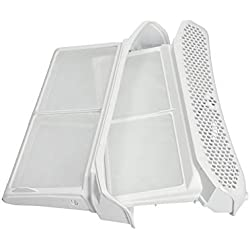 Filtre à peluches tamis blanc sac filtrant blanc sèche-linge pour Bosch Siemens Balay Constructa Neff 00656033 656033