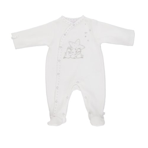 Noukies - Body -Blanc - Blanc - 6 mois (Taille Fabricant: 68)