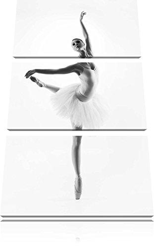 Ballerina estetica 3 pezzi picture tela 120x80 immagine sulla tela, XXL enormi immagini completamente Pagina con la barella, stampe d'arte sul murale cornice gänstiger come la pittura o un dipinto ad olio, non un manifesto o un banner,