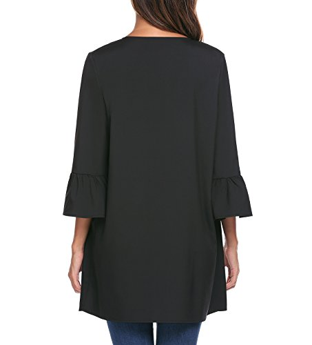 Modfine - Gilet - Uni - Femme Noir