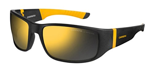 Carrera Carrera 4000 Black / Yellow / Multilayer Orange Kunststoffgestell Sonnenbrillen