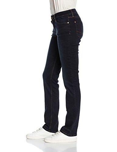 Cross Jeans Damen Straight Leg Jeanshose Rose Blau (blue black used 026)