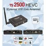 REDLINE TS 2500 MINI Sat Receiver Freier Empfang Ideal für Astra Hotbird Eutelsat Türksat Nilesat... WiFi mit W-LAN Stick - LAN Ethernet Kompatibel für IPTV -
