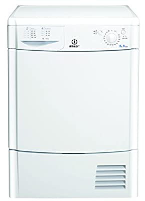 Indesit IDC8T3B Tumble Dryer Condenser Freestanding 8kg B Energy